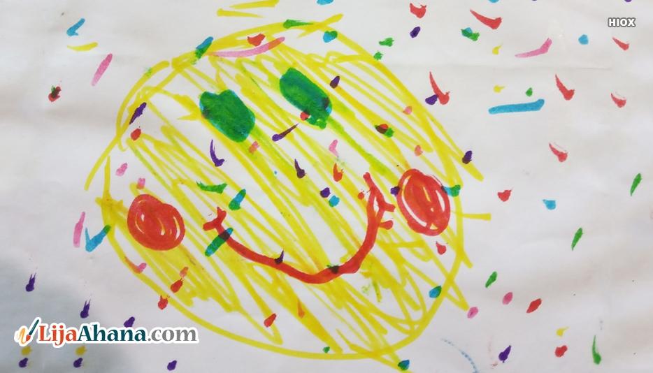 Kid Smiley Drawing