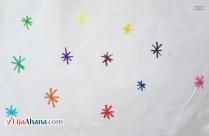 Stars Kid Drawing
